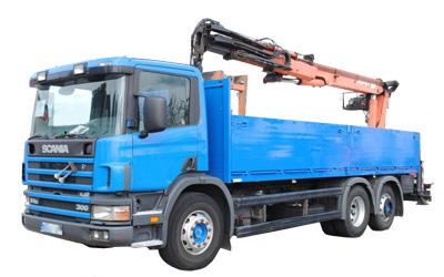 Usługi HDS Samochód ciężarowy SCANIA